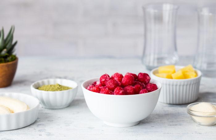 Tart Cherry Matcha Smoothie