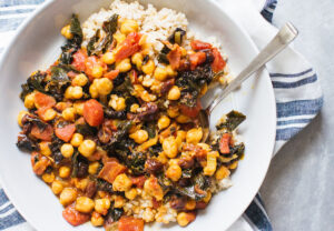 Chickpea Curry With Tart Cherries