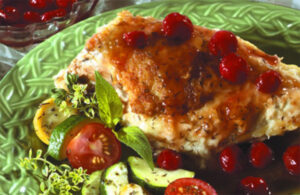 Tart Cherry Glazed Chicken Recipe