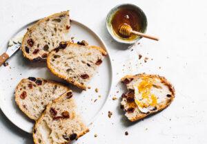 Tart Cherry Seeded Sourdough Bread Recipe