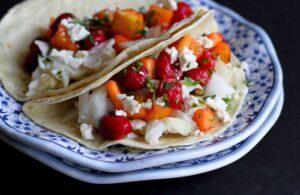 fish tacos tart cherry